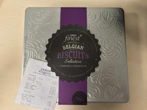 Finest Belgian Biscuits Selection £1.24 @ tesco