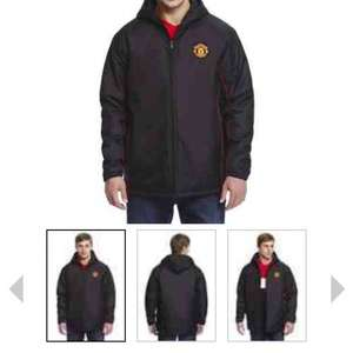 Man united/Liverpool/Barcelona mens coats £5.00 @ Tesco Clothing
