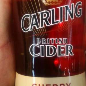 Carling cherry cider bottles £1 @ Asda