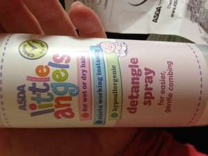 Asda little angels detangle spray! 36p