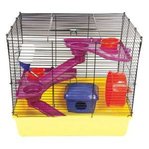 LARGE HAMSTER CAGE £14.99 @ Poundstretcher free delivery
