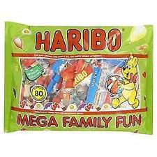 Haribo Mega Family Fun Pack.1250g.Approx 80 bags.Only £4.75 @ Farmfoods.