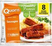 Quorn sausages, mince,chicken style pieces  etc, any 3 for £4 @ Farmfoods