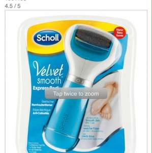 School velvet smooth express pedi instore at Asda