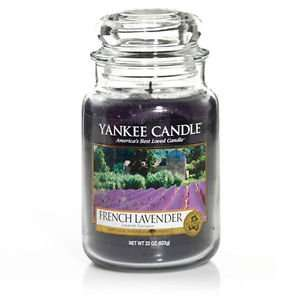 Yankee Candle French Lavender Large Jar Scented Candle £14.25 @ yankeestorelimited Ebay