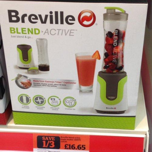 Breville Blend-Active Personal Blender - 300 Watt - £16.65 instore @ Sainsbury's