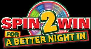 Spin2Win @ Papa Johns - Randomized daily deals inc 50% off pizzas