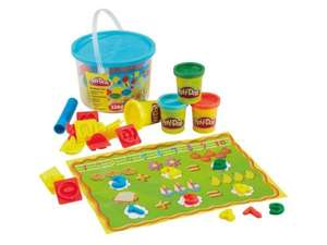 Play doh - 4 tubs + Tools 3.99 at Lidl Playdoh