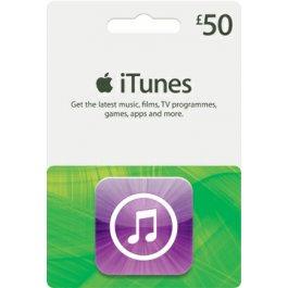 £50 iTunes voucher for £36.95 with code @ CDKEYS
