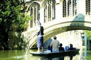 Full-Day Punt Hire £29 in Cambridge. Normally £90 @ Groupon / Scudamore's Punting