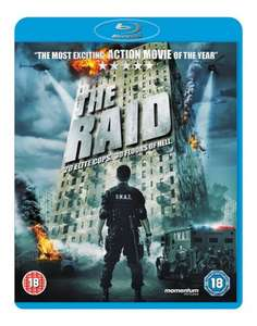 The Raid DVD/Blu-Ray instore @ Fopp including 2-for-1 voucher for The Raid 2 - £5 (DVD) or £6 (Blu-Ray)