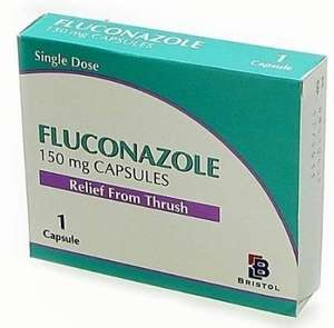 FLUCONAZOLE 150MG CAPSULES 3 pack @ Amazon (from Your247Chemist)