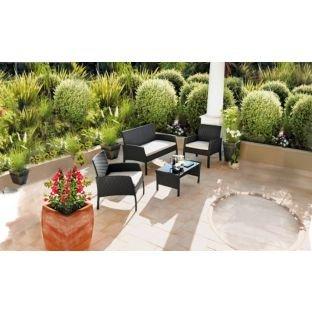 Rattan Garden Furniture 4 Pc Set £169.99 @ Argos
