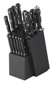 Russell Hobbs 16 Piece Magnus Knife Block Set - £15.99 RRP £49.99 @ Robert Dyas