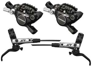 Shimano XT M785 Brake Levers and Post Mount Calipers (set) £107.99 @ Ribble cycles
