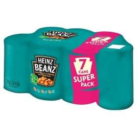 HEINZ 7 Pack Baked Beans £2 Instore Only @ ASDA