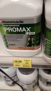 Maximuscle Promax Lean 1.2kg tub, Local deal, £19 @ Tesco