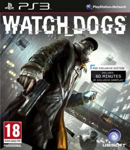 Tesco direct Pre order watch dogs all formats £5 off and 500 clubcard points (PS3 price) £35