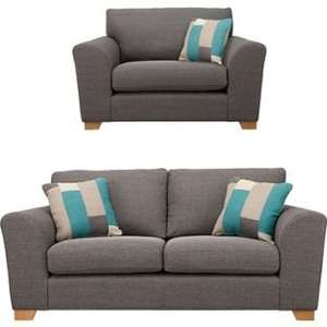 Ashdown Sofas Reduced, eg Large sofa and Snuggler £437.33 Delivered @ Homebase