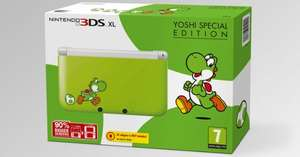 Nintendo 3DS XL Yoshi Special Edition £169.99 @ Game