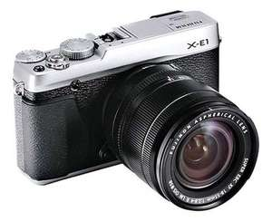 Fuji X-E1 with 18-55mm lens and free 50-230mm lens £589 @ mathersoflancashire