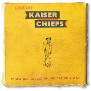 Kaiser Chiefs: Education, Education, Education & War album CD (and free MP3 version) - £6.99 @ Amazon (free delivery £10 spend/Locker/Prime)