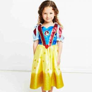 Disney Princess Glitter Snow White Dress Half Price £9 @ ELC
