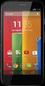 Motorola Moto G (8GB) + 2yr Contract £13 - £6.50/month after redemption, 100mins, 100mb data, unlimited texts vodafone  @ Mobilephonesdirect