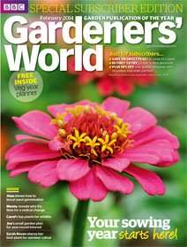 Gardeners World magazine 5 issues for £5 @ buysubscriptions