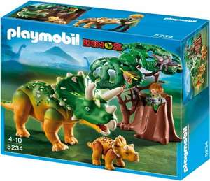 Playmobil 5234 Explorer and Triceratops with Baby @ Amazon for £12.99 (was  £20.39 recorded on 30th March)