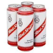 Red Stripe Lager only £2.99 for 4 x 484ml cans @ B&M