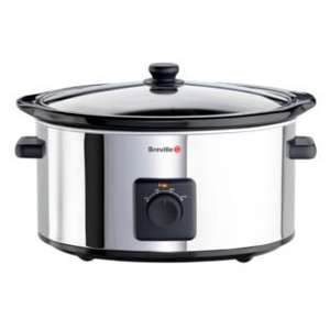 Breville ITP138 5.5L Slow Cooker - Stainless Steel was £36.99 now £20.89 @ Argos