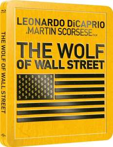 The Wolf of Wall Street (Steelbook) Blu-ray £21.37 (Sold Out at Amazon & £27.99 at Zavvi) at MovieMail