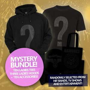 Ladies Tee + Hoody + Accessories Bundle £35 @ mamstore