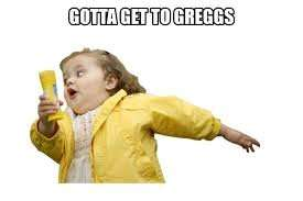 Top up £5 and get £5 FREE @ Greggs Just download the app, add funds via PayPalUK & activate auto top up. First 10,000 only