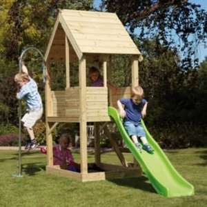 TP Wooden Playhouse with slide - £199.99 + p&p (£8.95) Home Delivery Only!!! @ Argos (£208.94)