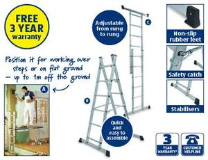 Scaffold and Ladder System £69.99 @ Aldi (starts Sunday 6th April)