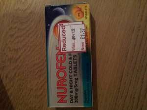 Day and night NUROFEN £1.37 @ Wilko instore