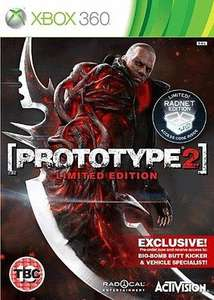 Prototype 2 Limited REDNET Edition on XBox 360 - XPress Games. £4.99