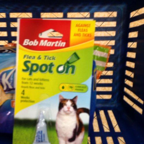 ALDI - Bob Martin Flea/Tick treatment for dogs or cats £1.89