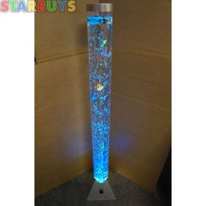 Bubble Fish Tube Lamp £21 was £39.99  from wowcher OFFER ENDS TODAY
