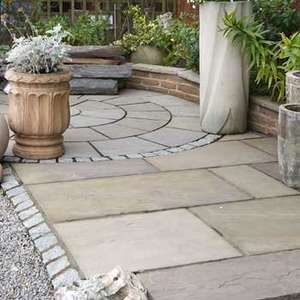 Sandstone Patio Paving Slabs £10.65m2 + VAT @ Pricelesspaving