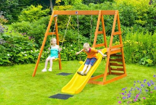 Plum tamarin wooden play centre with wavy slide £150.00 @ Asda Direct