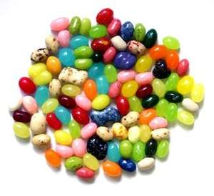 Belly flops - misshapen Jelly Belly sweets 120g for 99p (in 99p store!)