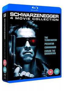 Stallone & Arnie Blu-ray Collections - Schwarzenegger 4 movie Collection - £15.25, Stallone Collections: 3 movie - £6.80 / 5 movie - £9.50 @ Amazon