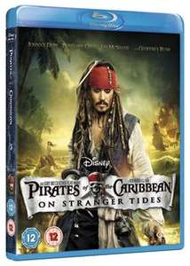 Pirates of the Caribbean: On Stranger Tides Blu-ray added to Disney Movie Rewards (700 points)
