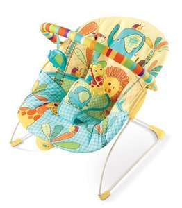 Bright starts sunny side safari baby bouncer £19.99 + £4.99 p&p @ kiddicare