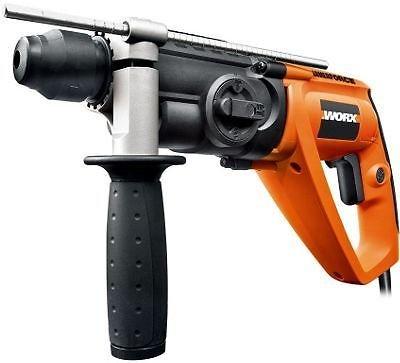 Worx WX338 650W SDS Drill £43.94 delivered OR Worx WX312 810w drill £33.94 - Homebase (eBay) - 3YR warranty
