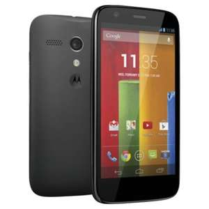 Moto G 16GB + Any Other Stuff Worth £11 @ Tesco - £120 (with codes)