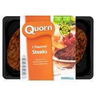 Quorn Peppered Steaks (2 pack) £1 ASDA Online and Instore